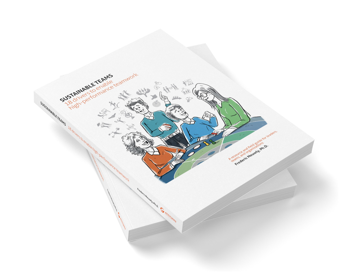 Book Sustainable Teams by Frederic Meuwly